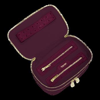 Travel Case Mulberry Croco - Interno 1.p