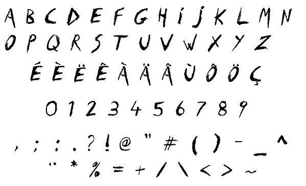 font typographie Kiwaya