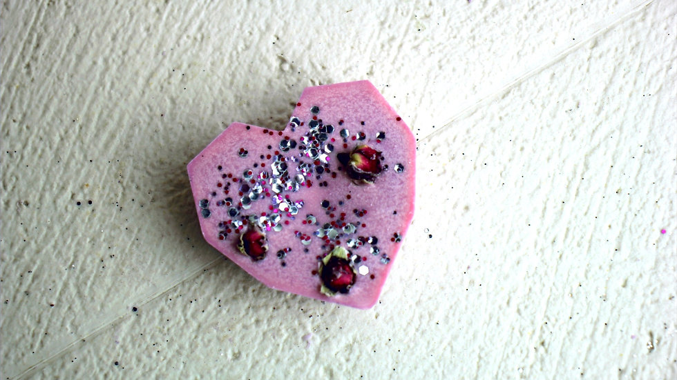 Rose & Ylang Ylang Heart Wax Melt