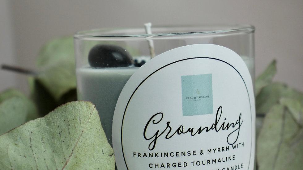 Grounding Frankincense & Myrrh Soy Candle