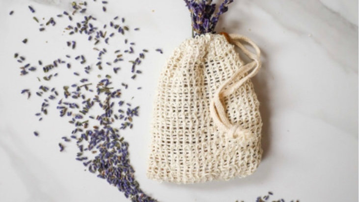 Lavender and Oat Bath Bags