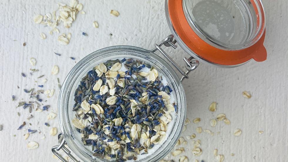 Lavender, Oats & Milk Bath Soak