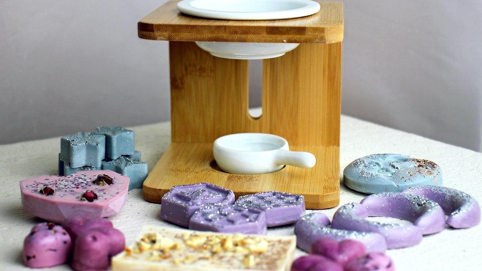 Aromatherapy Wax Melt & Burner Gift Box