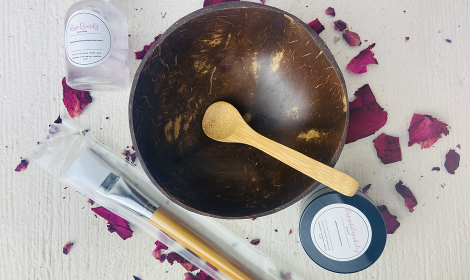 Make Your Own Rose Petal & Pink Clay Face Mask