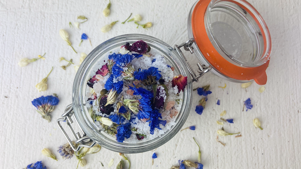 Aromatherapy & Botanical Bath Salts