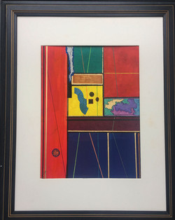 """Map"" Homage to Mondrian"
