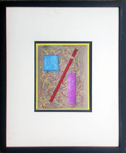 Kandinsky's Red Diagonal