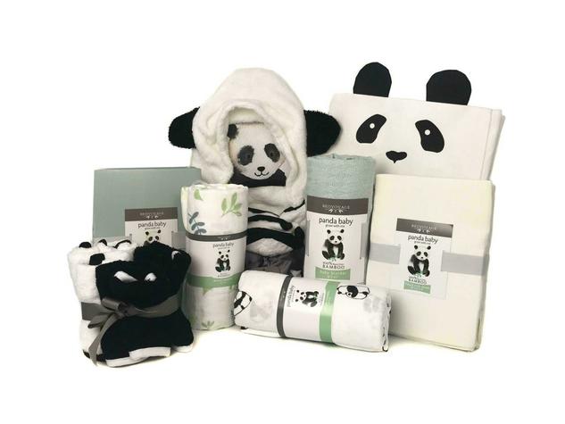 Panda Baby Bamboo Gift Essentials