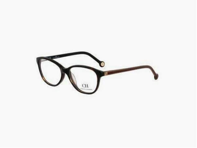 Carolina Herrera VHE560-0743 Round Women's Eyeglasses