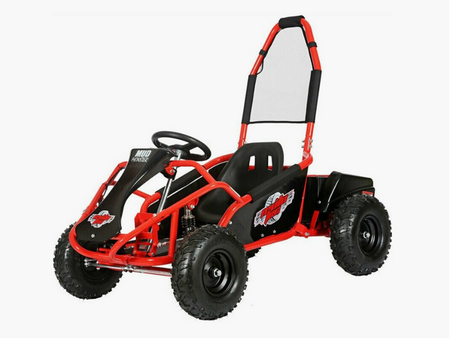 Mototec Mud Monster Kids Electric Go Kart