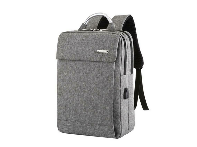 Dual Compartment Anti Theft Soft Computer Backpack
