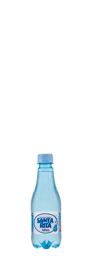 300ml com gas agua santa rita quadrado b
