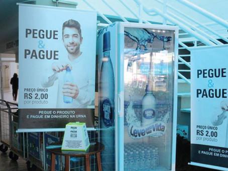 Fonte de Inspiração: ação Pegue e Pague, em Rio do Sul