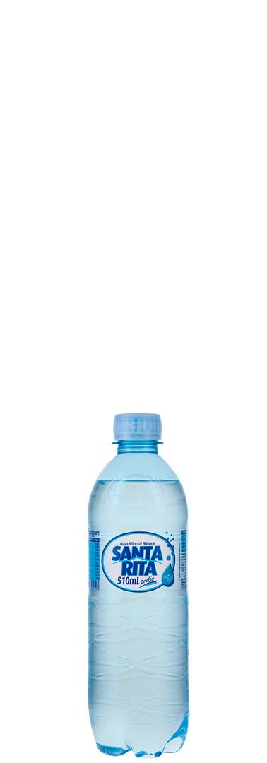 510ml com gas agua santa rita quadrado b
