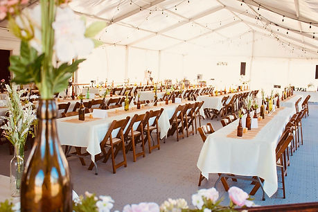 Country Acres Wedding Tent