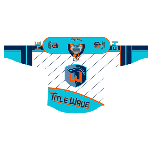 Title Wave Roller Hockey Jersey -White