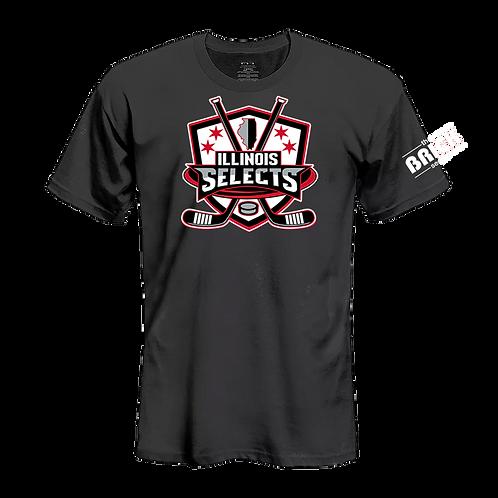 Illinois Selects Brick Series T-Shirt - Short Sleeve