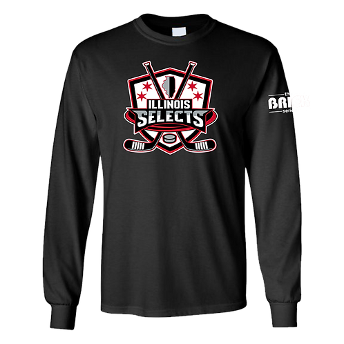 Illinois Selects Brick Series T-Shirt - Long Sleeve
