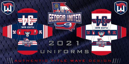 GA United 2021 Jerseys (Atlanta, GA)