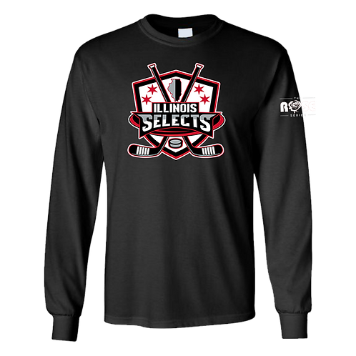 Illinois Selects Rose Series T-Shirt - Long Sleeve