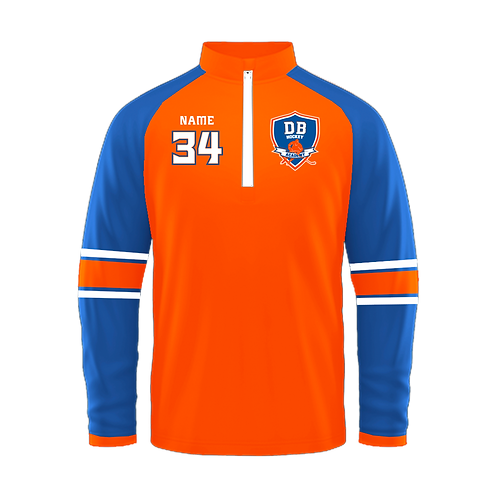 DB Hockey 1/4 Zip Pullover