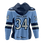 Thumbnail: Atlanta Phoenix Custom Jersey Hoodie