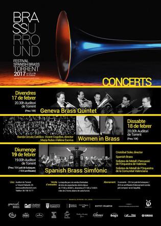 Conciertos Brassurround!!