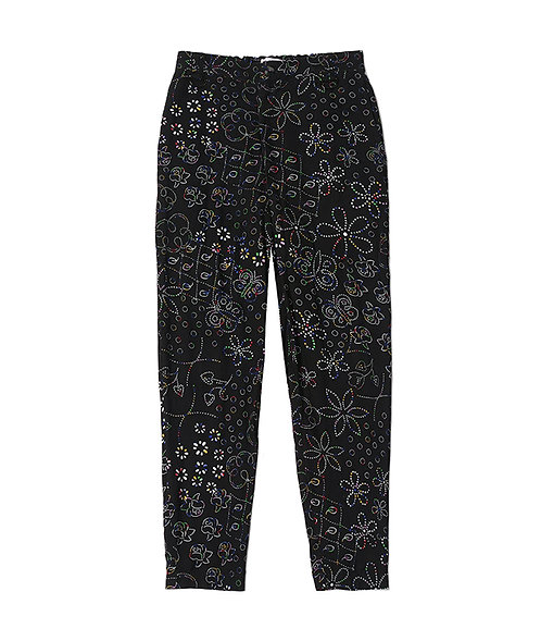 Toilet Paper Relaxed Pant - Black