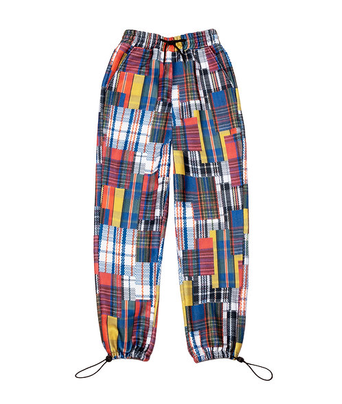 Market Bag Plaid Fleece Lounge Pants