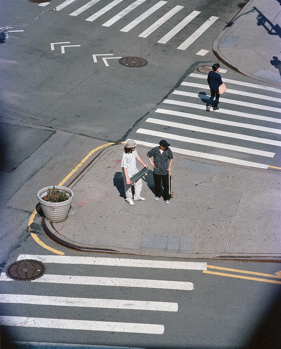Ilgi Subway Tiles Print Lookbook Shoot in New York City