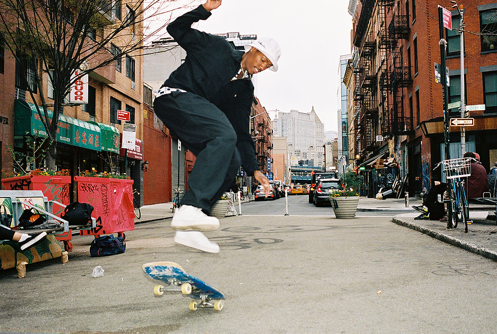 Ilgi Checkered Chain Lookbook Shoot in New York City