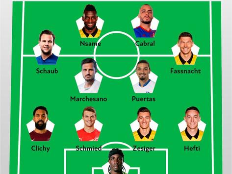 Unser Super League Team der Season 2020/21