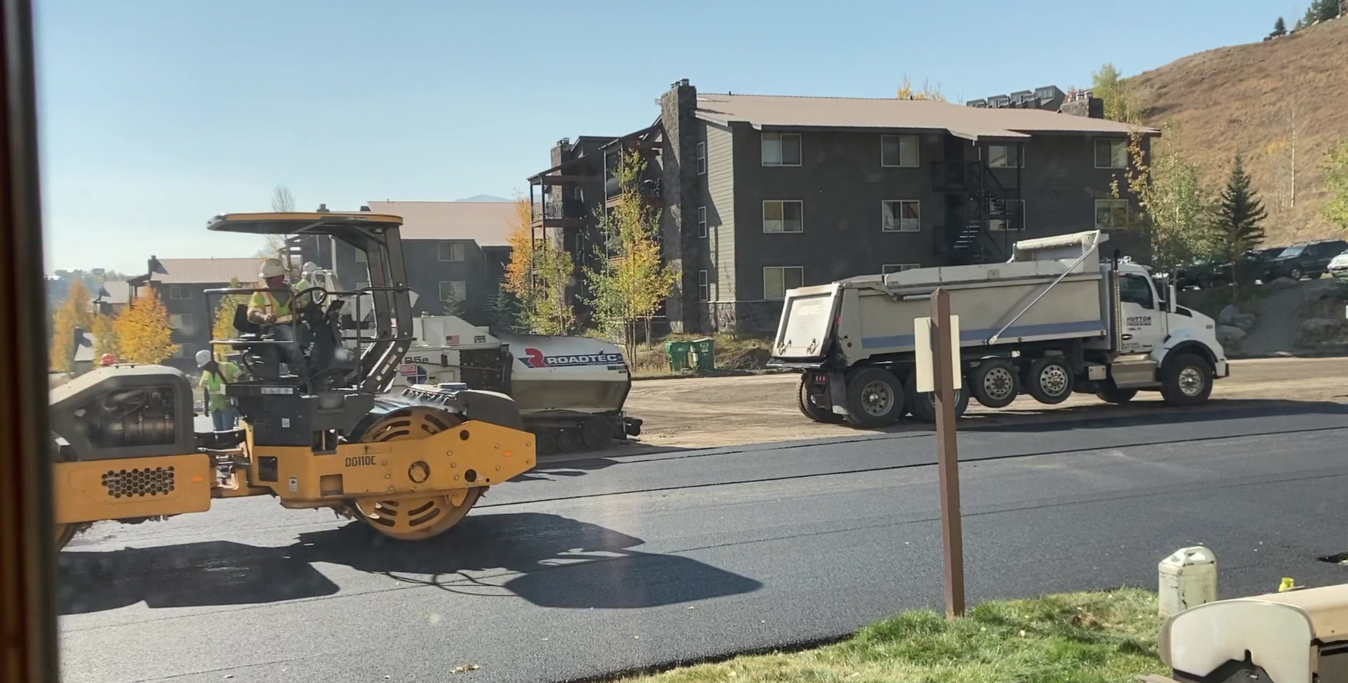 Video of paving!