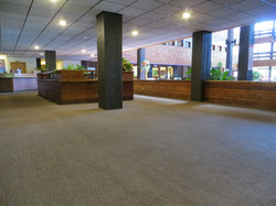 New Carpeting in the South Mall
