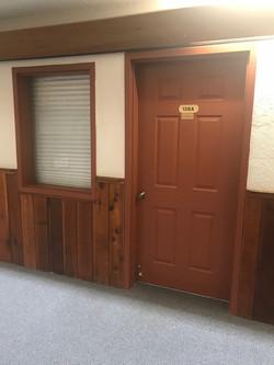 Painted Door and Window