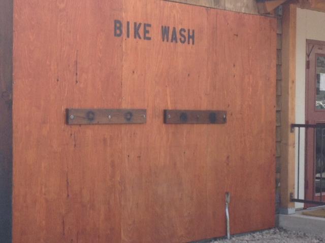 Bike Wash Station
