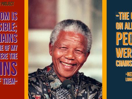 Happy Nelson Mandela International Day, 18 July!