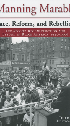 Race, Reform, and Rebellion: The Second Reconstruction and Beyond in Black America,  1945‒2006  (Third Edition 2007) by Manning Marable