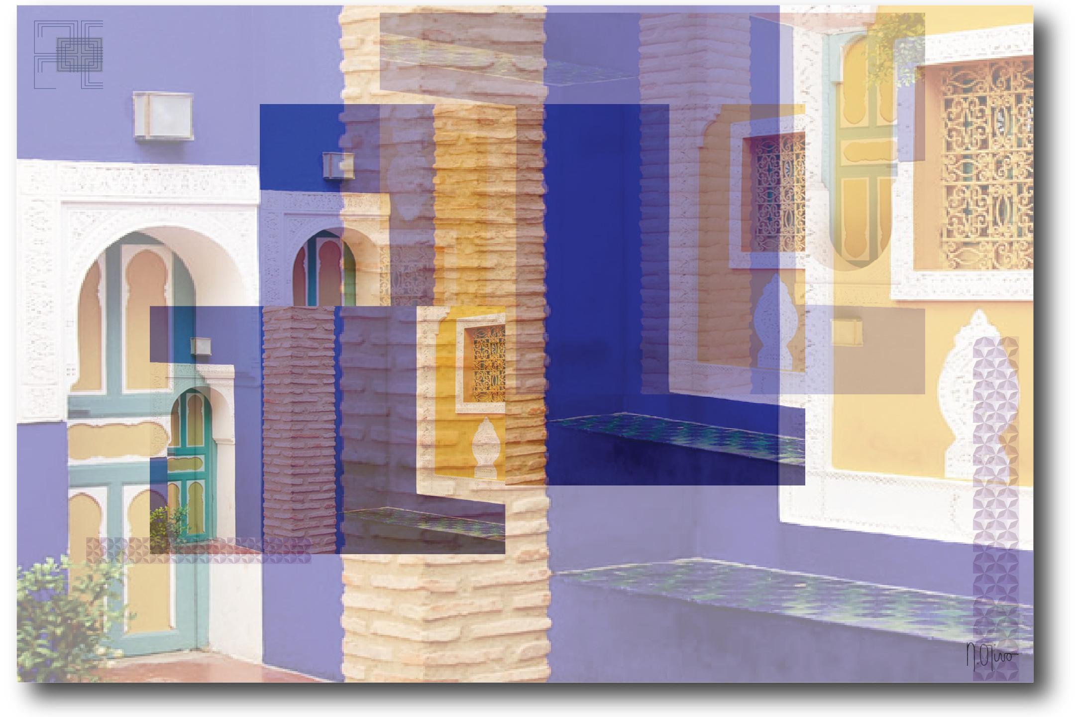 """Impresión Digital """"Marroquí"""" / Nelilda Cochi / Viva Carpets"""
