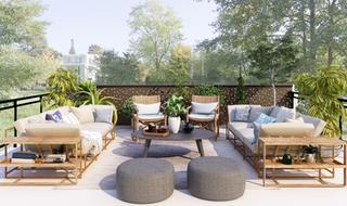 Si buscas una terraza multiusos…