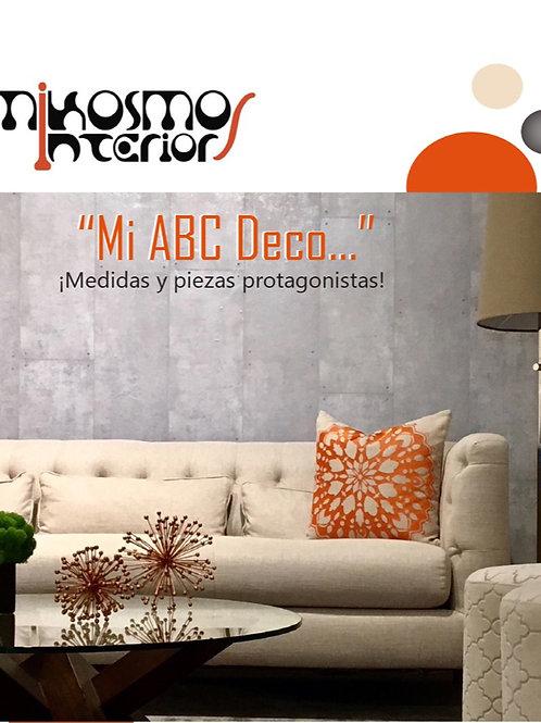 Mi ABC Deco - Medidas (Primera edición - Vol. 1)