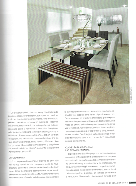 Revista Guía de Decoración