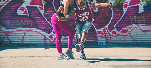 Les danseurs Graffiti