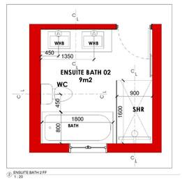 Ensuite Bathroom 02 Layout