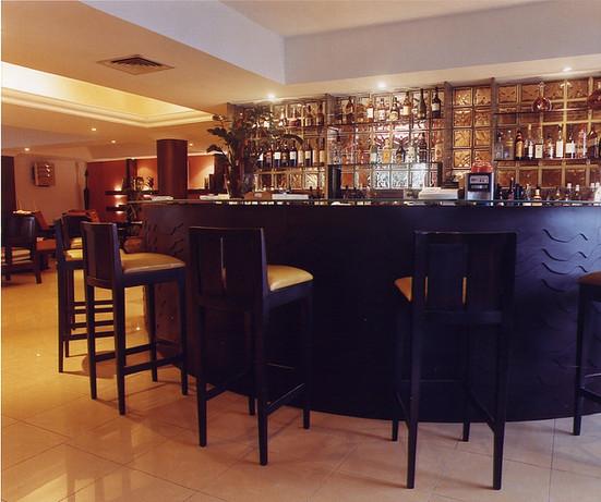 cigar lounge bar.
