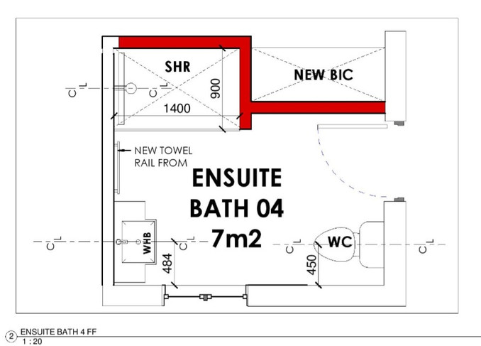 Ensuite Bathroom 04 Layout