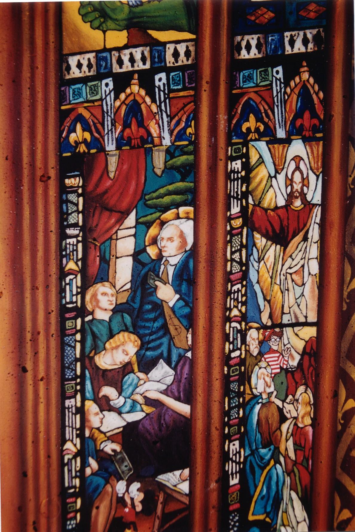 détail Fresques des Piliers