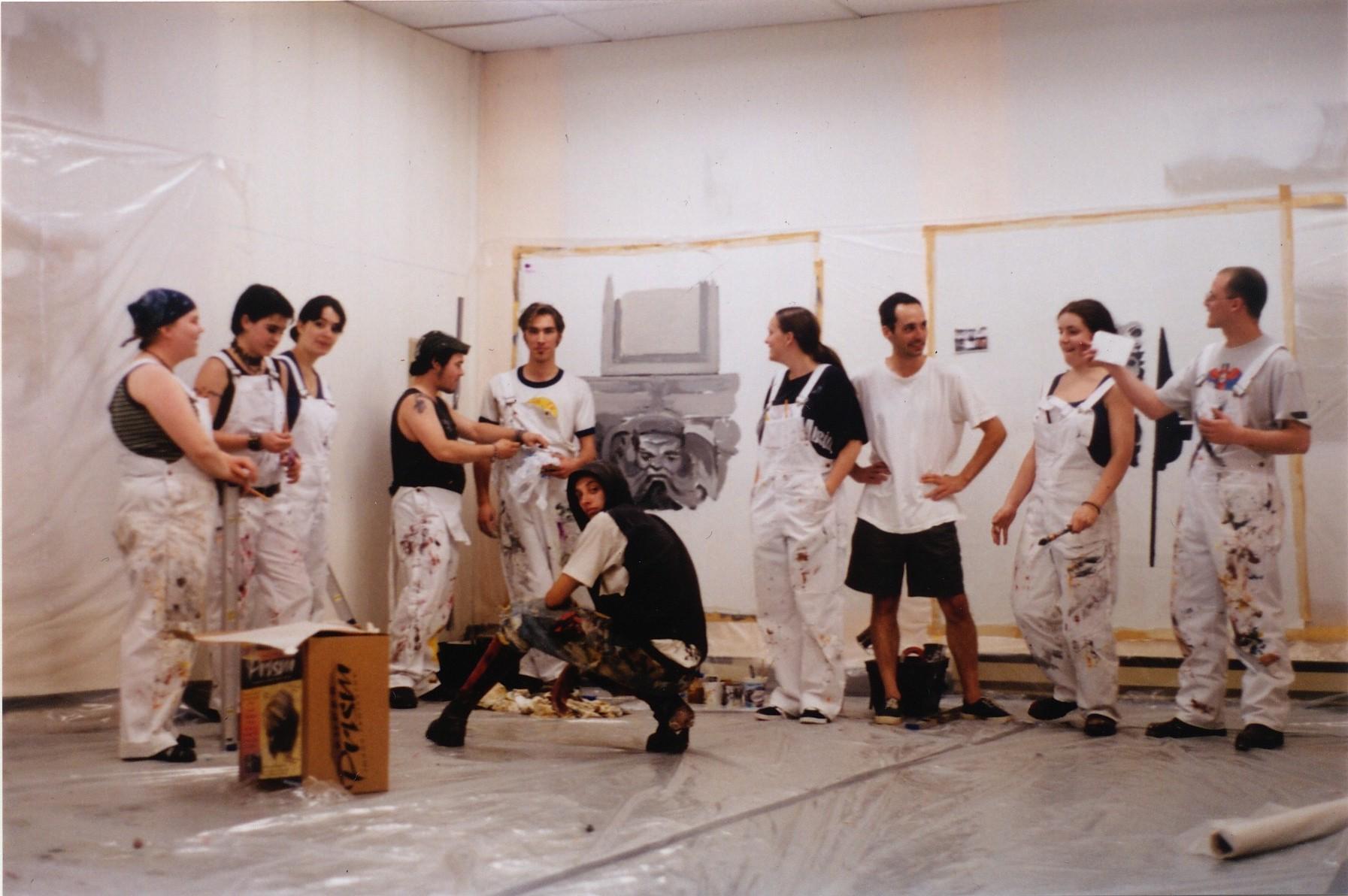 Les muralistes