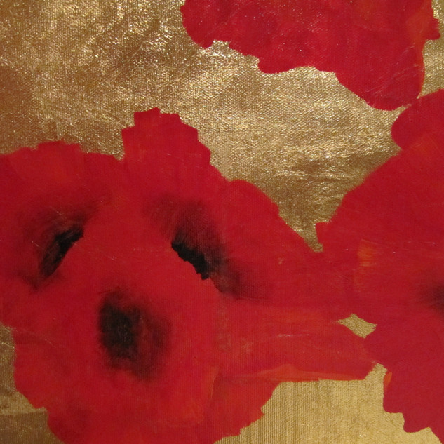 FLIGHT OF POPPIES (detail)