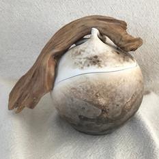 urne funéraire obvara bois flotté